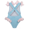 Squared Up Bow Swimsuit