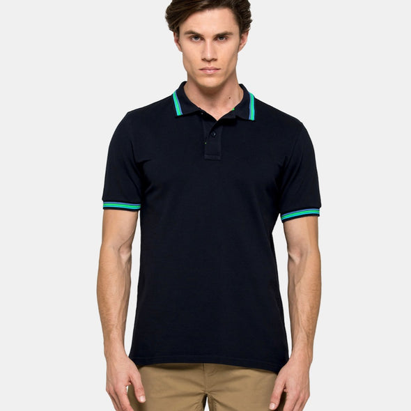 Sundek Navy Brice Polo for Men