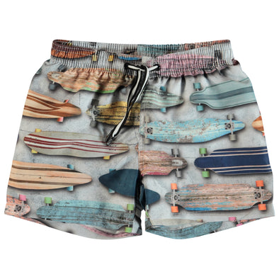 Niko Board Stripe Swim Short