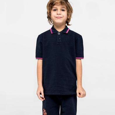 Navy Mini Brice Polo