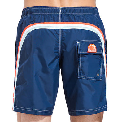 Men's Elastic Navy Boardshort