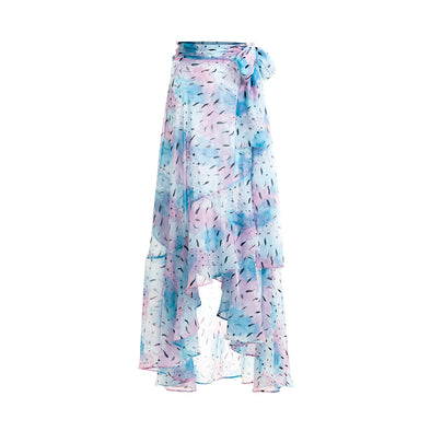 Blue Scale Flippa Skirt