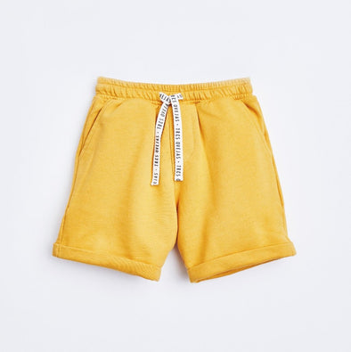 Mustard Bermudas for Boys