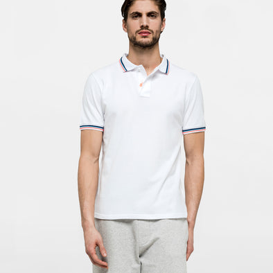 White Brice Polo
