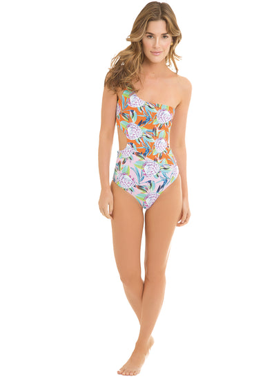 Maui Maria Reversible One Shoulder One-Piece