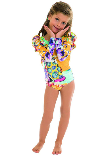 Hippie Pauli Long-Sleeved Swimsuit