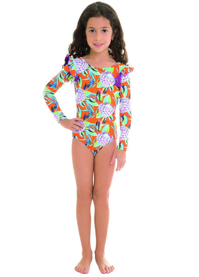 Maui Pauli Long Sleeved Swimsuit