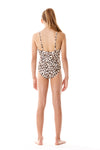 Zippered Cheetah One Piece