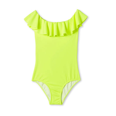 Neon Flared Swimsuit
