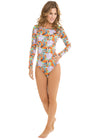 Maui Surf Long-Sleeved One-Piece