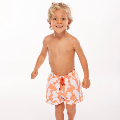 Ashanti Orange Boy Short