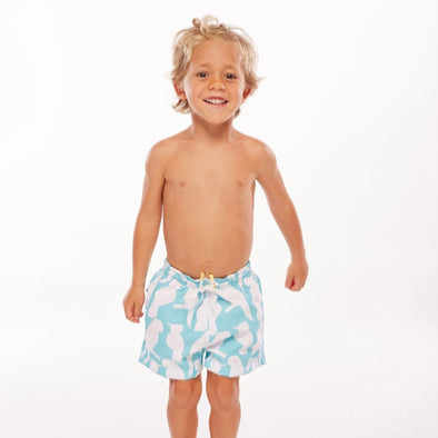 Ashanti Light Blue Boy Short