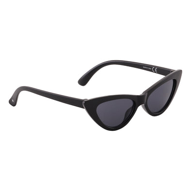 Sola Cat Eye Very Black Sunglasses