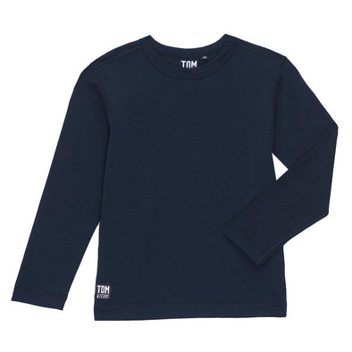 Boys Deep Blue Long Sleeve Rashguard