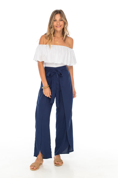 Women Solid Bali Pants