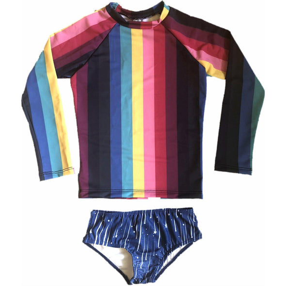 Rainbow Revolution Rashguard Set