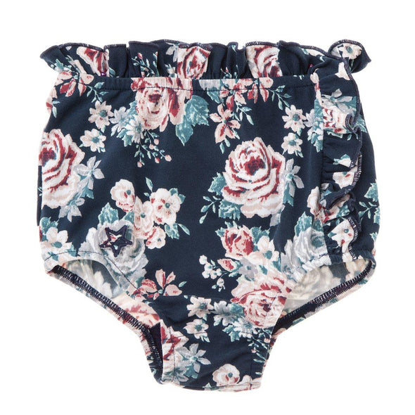 High Waisted Floral Bikini Bottom