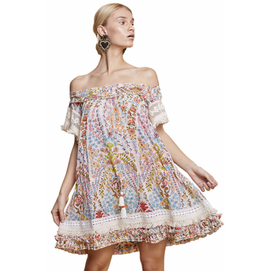 Francesca Women Floral Coverup Dress