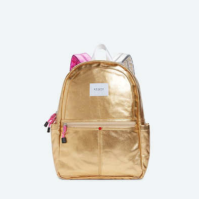Kane Metallic Gold Backpack