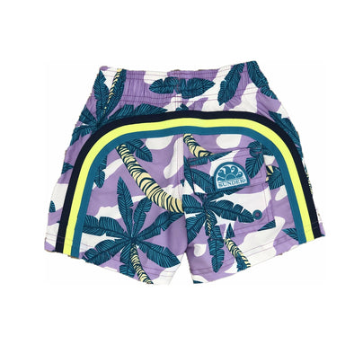 Sundek Lilac Palm Print Swim Short
