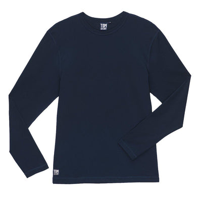 Mens Deep Blue Long Sleeve Rashguard