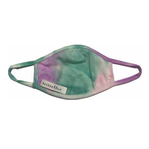 Kids Tie Dye Mint Purple Face Mask
