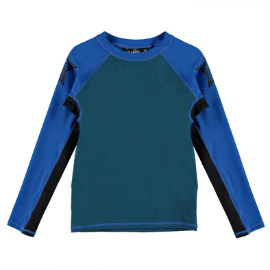 Skydive Color Block Long Sleeve Rashguard