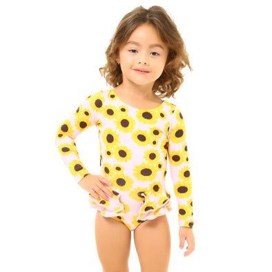 Sunny Flower Pauli Long Sleeve Swimsuit