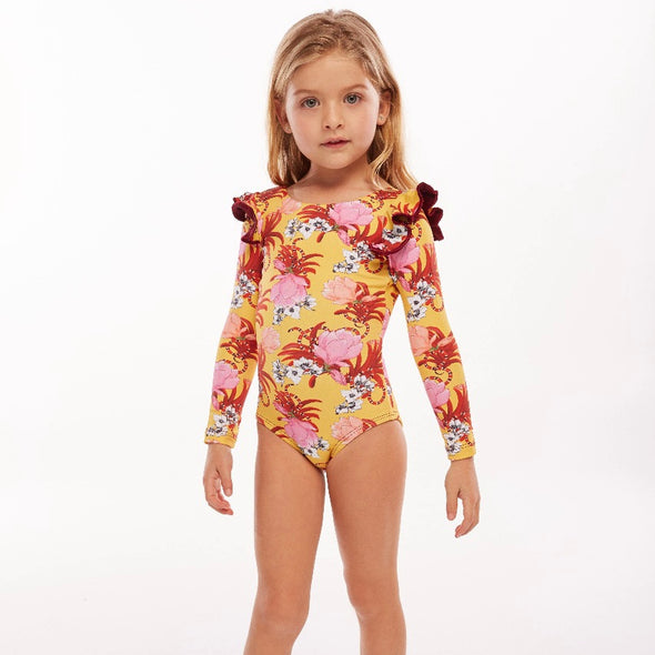 Nascha Pauli Long Sleeve Swimsuit