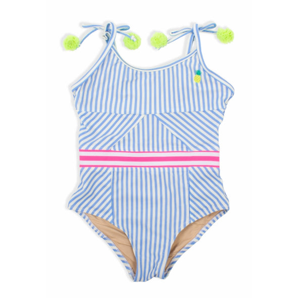 Pinstripe Pineapple One Piece