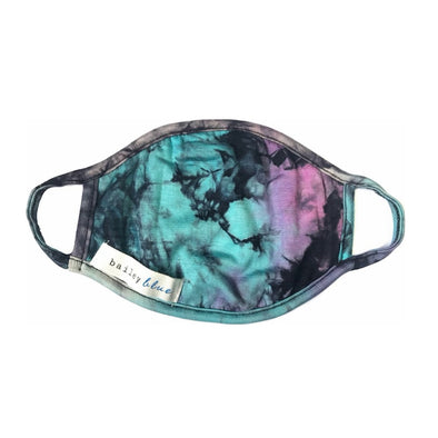Kids Tie Dye Purple Haze Mask