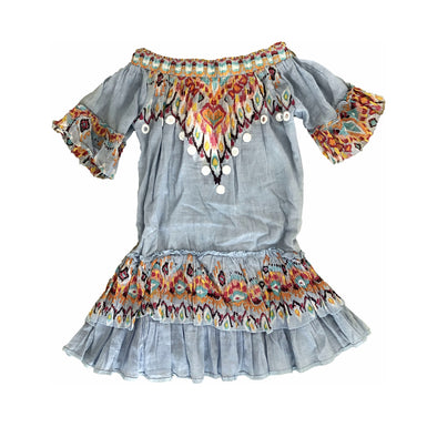 Sabina Off the Shoulder Dress for Girls