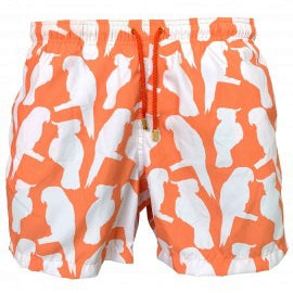 Ashanti Orange Men Short