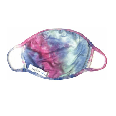 Kids Tie Dye Summer Daze Face Mask