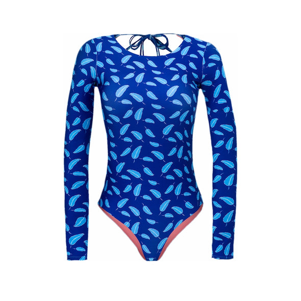 Puma Surf Long Sleeved One Piece