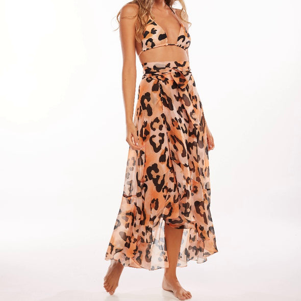 Tigris Flippa Long Skirt