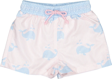 Think Big Whale Swim Shorts
