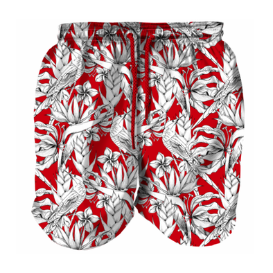 White Bird Men Swim Shorts