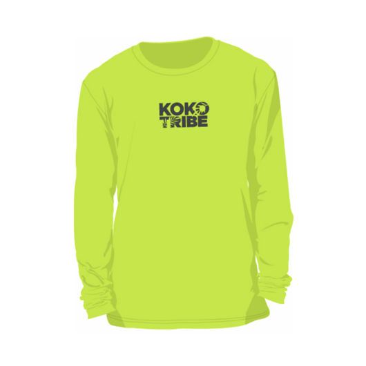 Koko Tribe Youth Neon Rashguard Top