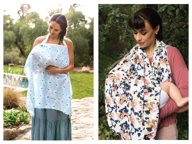 Here at Bebe Au Lait, we're committed to helping moms nurse with confidence.  We offer two ways to keep covered while nursing – our #1 best selling classic nursing cover, and our stylish nursing scarf.  If you're expecting a new baby or currently nursing,