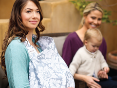 Nervous about nursing in public? Bebe Au Lait has you and baby covered!