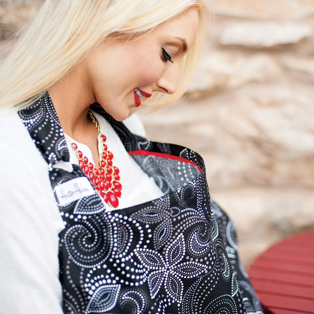What's a Hooter Hider? Our #1 best selling nursing cover.