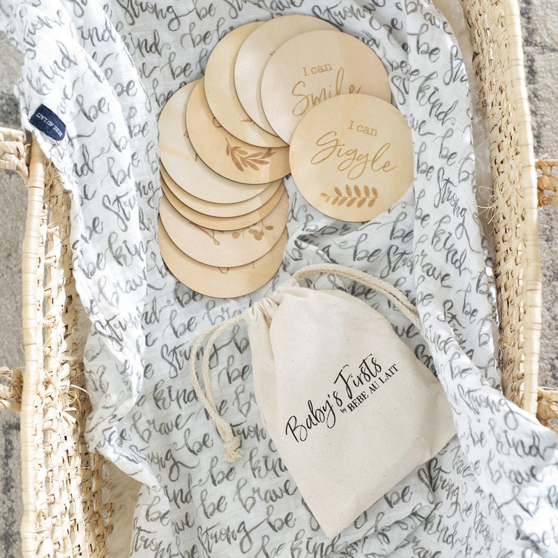 Baby's Firsts Milestone Moments Set - Milestone Moments - Bebe au Lait