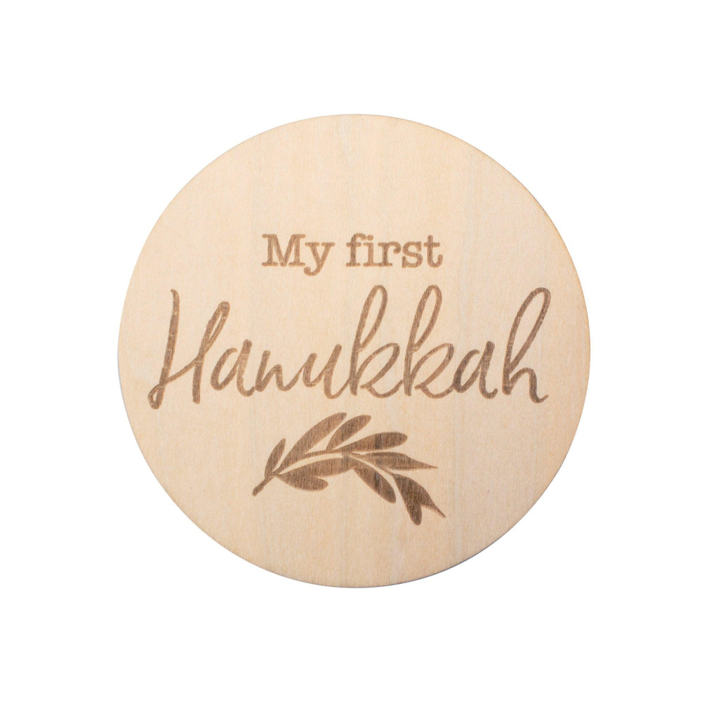 My First Hanukkah Milestone Disc - Milestone Moments - Bebe au Lait