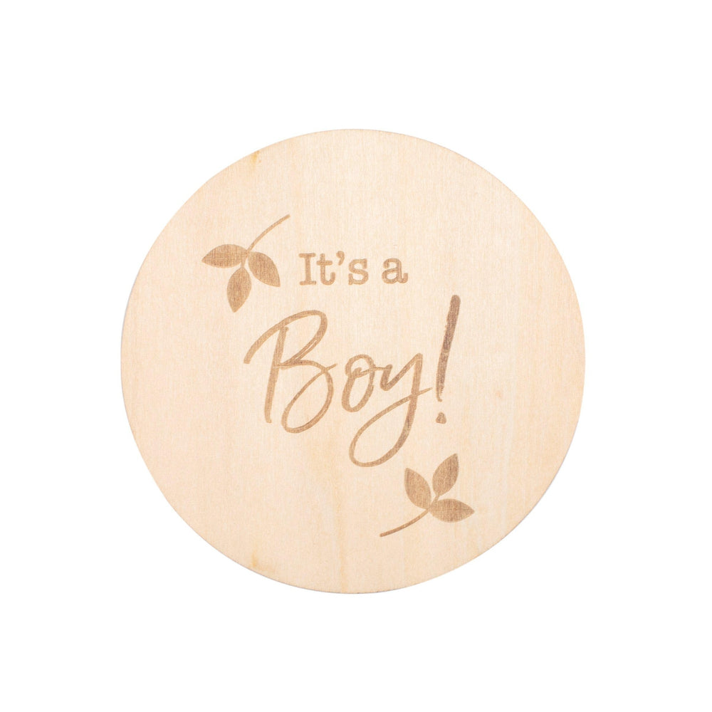 It's A Boy Milestone Disc - Milestone Moments - Bebe au Lait