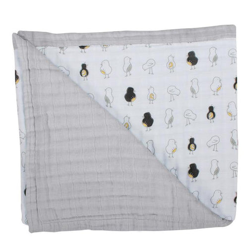 Pipit + Pebble Luxury Muslin Snuggle Blanket