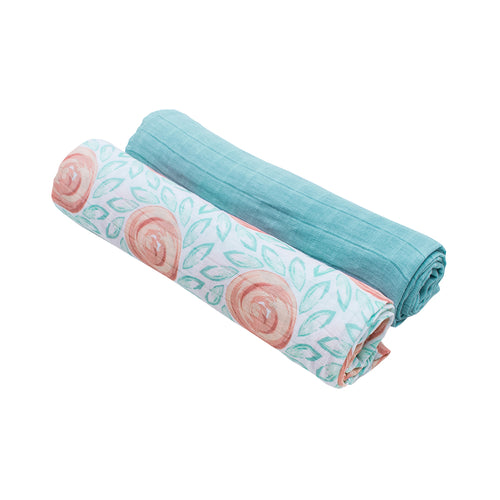 Fresco + Lagoon Luxury Muslin Swaddle Blanket
