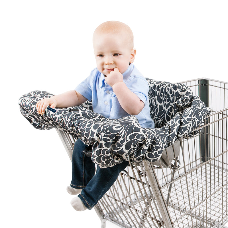 Tribeca Premium Cotton Shopping Cart Cover - Shopping Cart Cover - Bebe au Lait