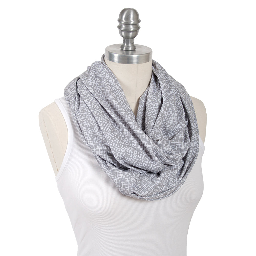 Lexington Jersey Nursing Scarf - Nursing Scarf - Bebe au Lait