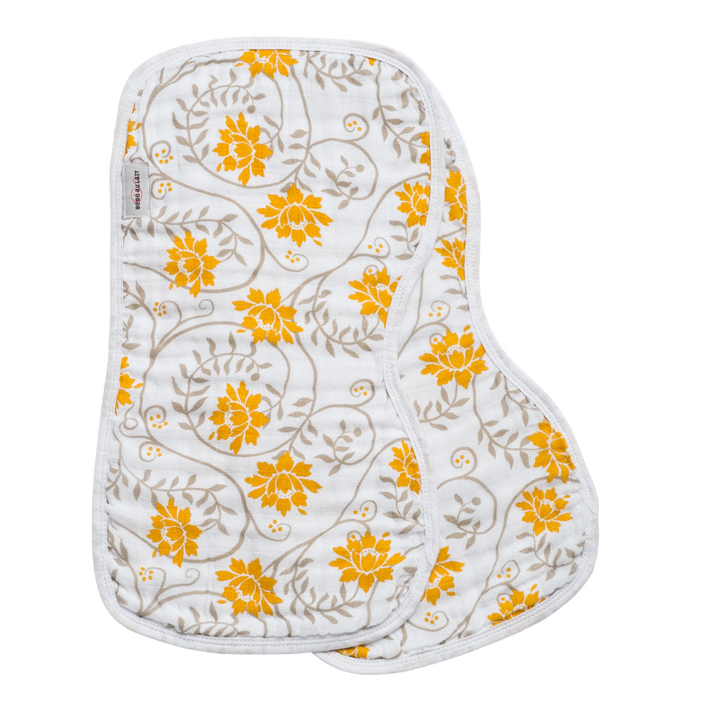 Soleil Muslin Burp Cloths - Burp Cloths - Bebe au Lait